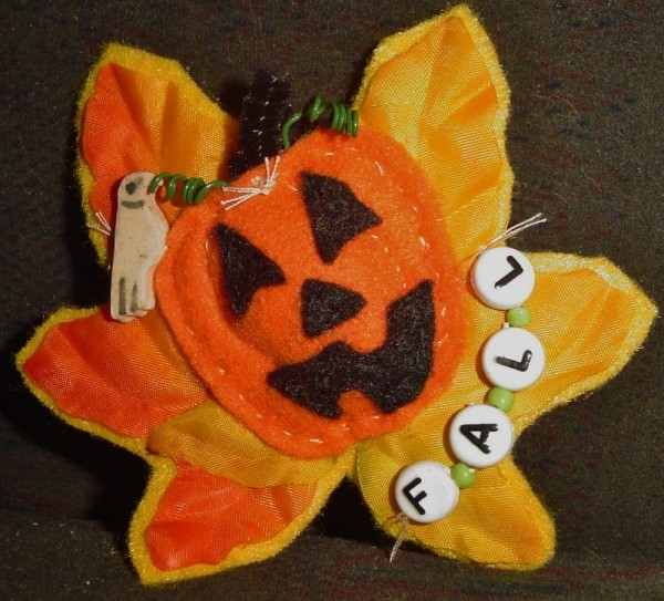 Pumpkin pin