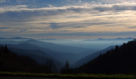 Fog Rolling Through the Smokey Mountains