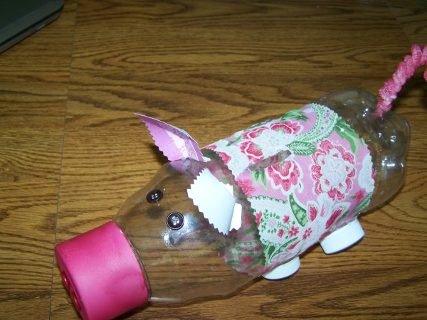 Prissy pig bank thriftyfun for Diy piggy bank