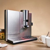Single Serving Coffeemaker with Coffee Pods and Mugs
