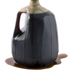 Jug of used motor oil.