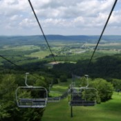 Chairlift at Canaan Valley WV