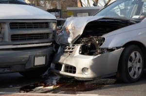 Saving Money on Auto Insurance, A car accident.