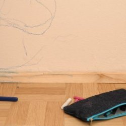 Cleaning walls thriftyfun - Remove crayon walls ...