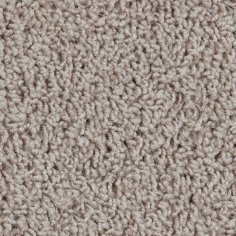 Upclose photo of beige carpet.