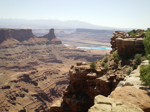 Canyon in Dead Horse Point UT