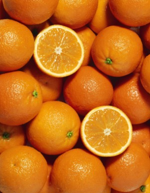 Storing Oranges, Canning Oranges, A bunch of bright round oranges.