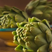 Artichokes on a Table