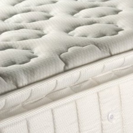Caring for Your Mattress, Upclose photo of a mattress.