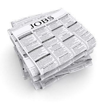 Finding a First Job, Newspaper with Jobs as the heading