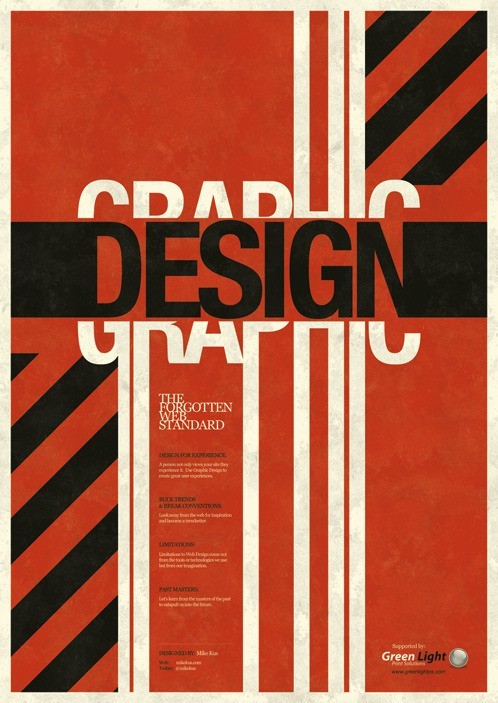 of a book or video entitled graphic design the forgotten web standard