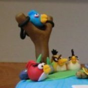 Closeup of Angry Birds for Teaser
