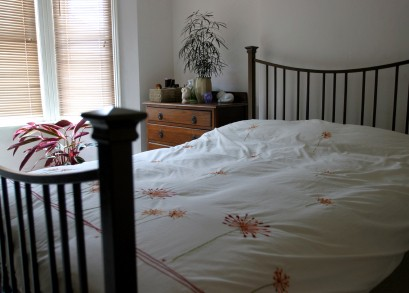 Iron Framed Bed