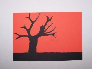 Sunset Silhouette Card4