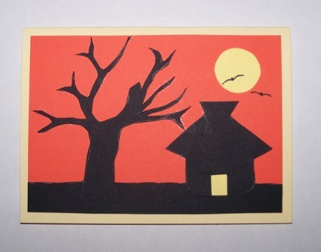 Sunset Silhouette Card 8