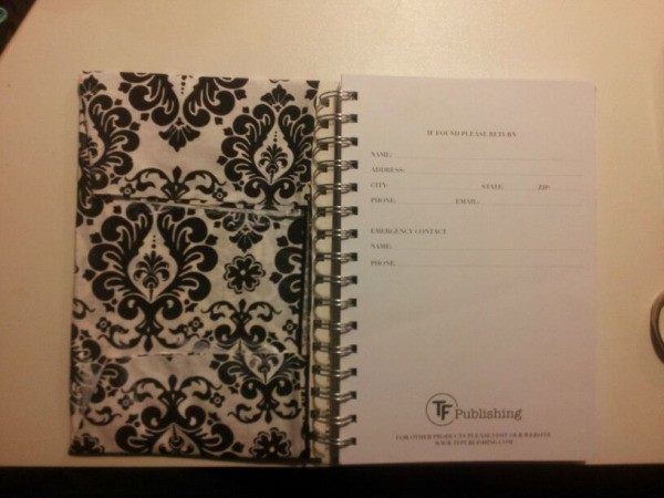 Make your own planner step 5