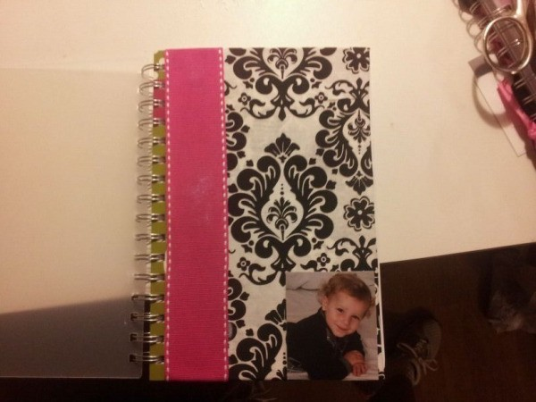 Make your own planner step 9