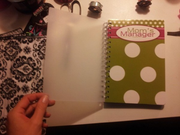 Make your own planner Step 1
