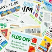 A pile of coupons.