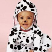 Child Homemade Dalmatian Costume