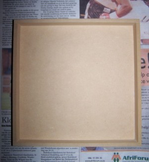 Magnetic Chalk Memo Board 1