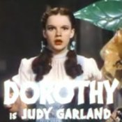 Photo of Dorothy from the movie The Wizard of Oz.
