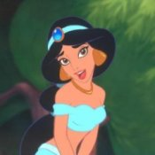 Picture of Jasmine from Aladdin.