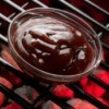 Homemade BBQ Sauce Recipes, BBQ sauce in a glass bowl.
