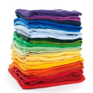 Stacked Fabric Rainbow
