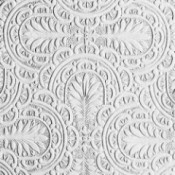 Sample of plume paintable wallpaper.