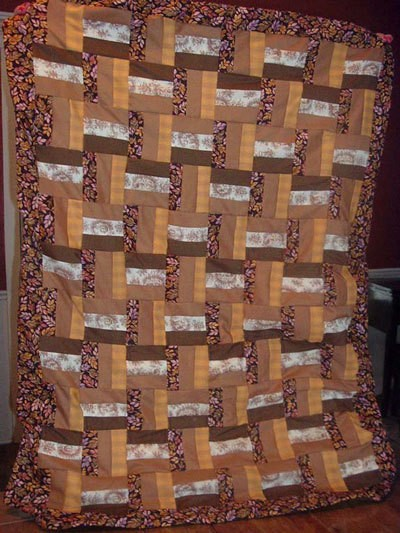 Photo of a T-Quilt.