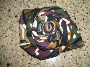 Finished Tie Rose Pin 2