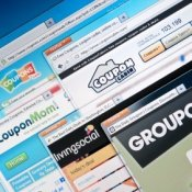 Websites offering discounts and coupons.