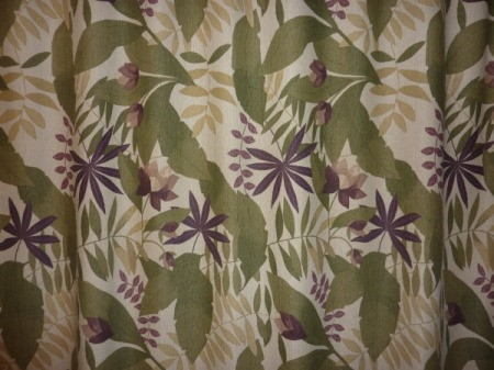 Sample of tropical wallpaper.