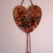 Thanksgiving Heart Decoration