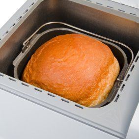 Gluten free bread in a bread machine.