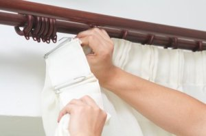 Hanging Curtains With Pleat Hooks