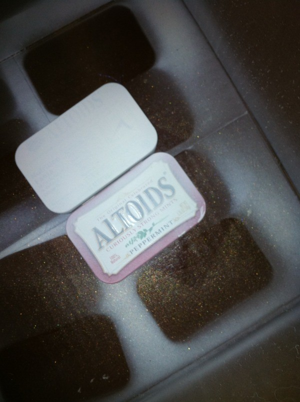 Painted Altoids box