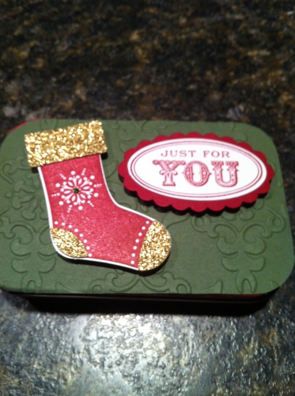 Stolking Gift Card Box