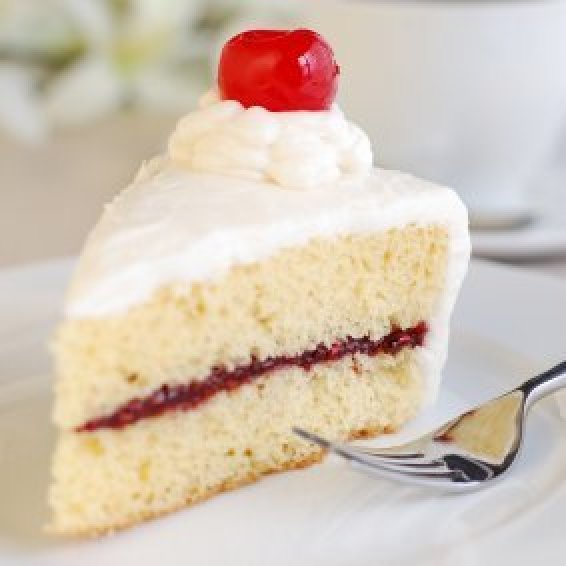 Vanilla cake recipes thriftyfun for How to make a vanilla cake from scratch