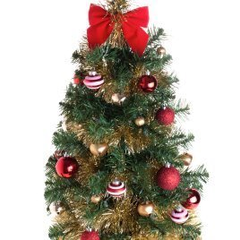 Decorated Artificial Tree L