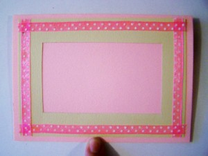 Ribbon Boarder on Frame