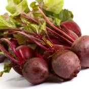 Photo of fresh beets.