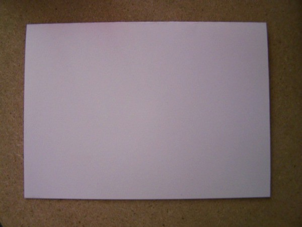 Piece of White Paper