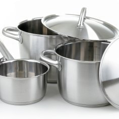 Pots and pans.