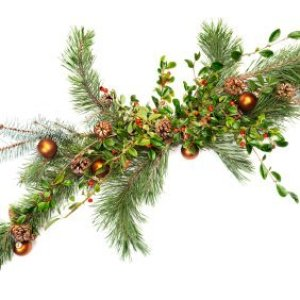 how to make evergreen garland