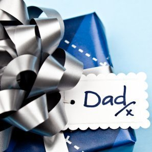 Gift wrapped for Father's Day.