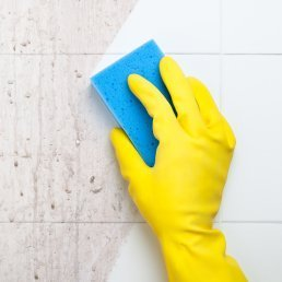 Cleaning Dirty Tile