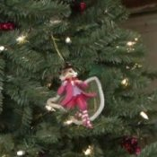 Decorate a Christmas Tree - Nutcracker Theme, Nutcracker Ornament on Tree