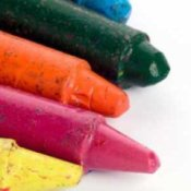 Craft Ideas Using Recycled Crayons, Uses for Old Crayons